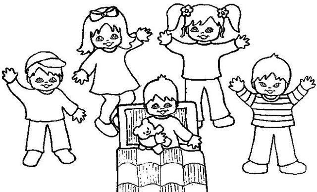 Картинки раскраски детей